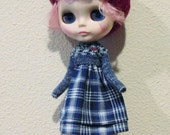 Blythe  / Pure Neemo S/M - Winter Blues Boho Dress