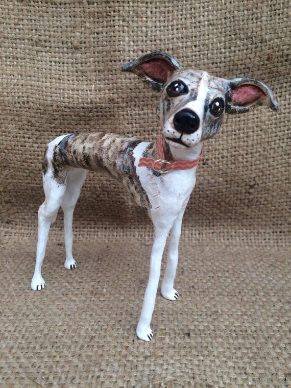 Large one of a kind custom pet folk art sculpture pet portrait pet memorial pet likeness for the dog lover