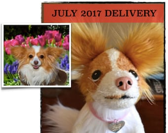 Custom Stuffed Animal - Pet Memorial - Pet Portrait - Dog Gift - Cat Gift - Pet Replica - JULY 2017  Delivery