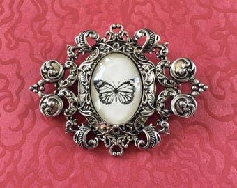 Sale 20% Off // BUTTERFLY Brooch - Silhouette Jewelry // Coupon Code SALE20