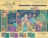 SALE PREORDER Graphic 45 Midnight Masquerade 12x12 Paper Pad