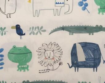 custom baby lovey/blanket ~ safari friends ~ chic couture ~ baby accessories ~ baby lovey/blanket from lillybelle designs