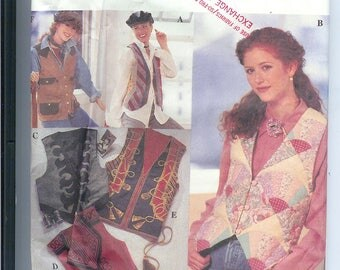 Simplicity VEST Package Sewing Pattern 8698 Size AA  6-8-10-12  UNCUT