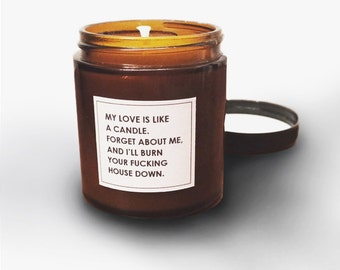 Funny Scented Jar Candle