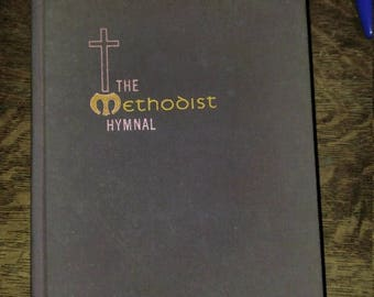 Methodist Church Hymnal, 1966 The Methodist  Hymnal by the Methodist Church, Hardcover, Choir Music, Piano Music, Church Music, Methodist