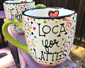 LOCA FOR LATTES Jumbo Mug