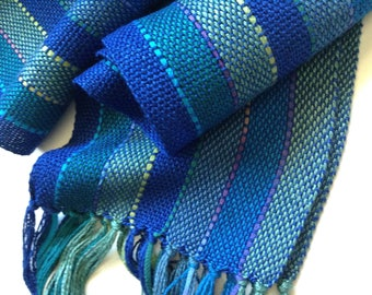 handwoven bamboo beautiful ocean blues