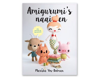 Amigurumi's naaien - toy  pattern sewing book
