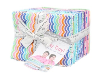 Rainy Day (22290AB) by Me & My Sister - Fat Quarter Bundle (40 FQ's)