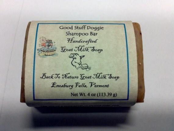 Good Stuff All Natural Dog Shampoo Bar