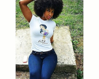 Chica Caliente Tee by DAZZEE