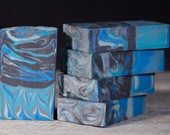Nag Champa   Cold Process Handmade Soap   Sea Shore Colors   Fatty's Soap Co.