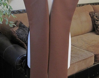Cosplay chocolate brown pleather tabards costume in several sizes