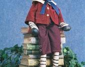 On Sale 20% Off Cloth Doll E-Pattern - 25 inch Boy Zebra Doll ePattern