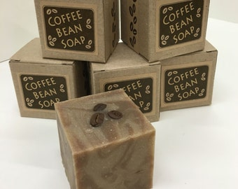 Coffee Bean Soap Cube