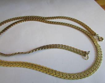Lovely herring bone necklace