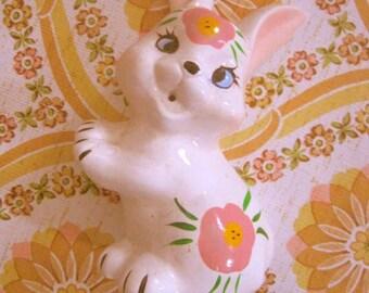 Vintage Rabbit String Holder