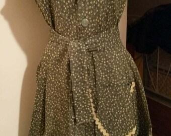 Handmade Vintage Inspired Frock Dress