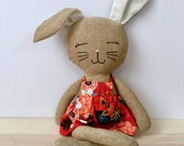 Custom Amelia bunny with personalization