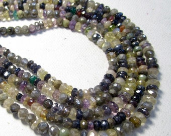 Mystic Labradorite Rondelle Beads 5mm, Mystic Amethyst Rondelle Beads 5mm, Mystic Topaz Rondelle Beads 5mm, Mystic Spinel Beads 5mm