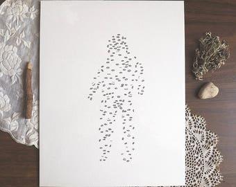 Many insides   Print - Illustration - Poster