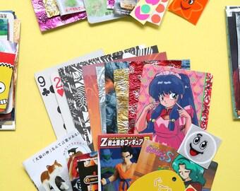 Anime Mix - 1 mini set of collage stock