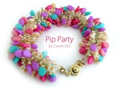 Pip Party Beadweaving Tutorial by Carole Ohl