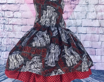 Dont Blink Weeping Angels Twirl Dress