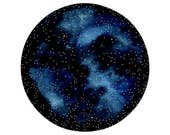 Imaginary Star Chart Number 21 - Original Contemporary 12x10 Watercolor Painting - Constellations, Astronomy Art - by Natasha Newton