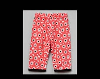 ON SALE 40% OFF Poppy Pants - Woodland - Pink Pants - Flowers - Toddler Pants - Girls Pants - Toddler - Bottoms - Cotton - Pink - Poppies -