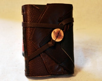 Wanderlust Leather Journal with Recycled Paper-Small