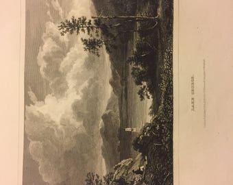 1832 Print Lake George