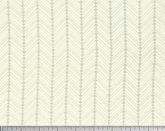 "Heather Bailey PWTC038 Checkerbone Silver Tonal True Colors BTHY Half Yd 18"" Freespirit Quilting Quilt Sew Sewing Herringbone Modern Fabric"