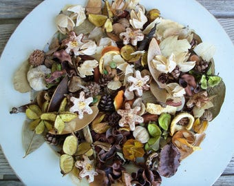 Field of Daisies Country Potpourri, Special Blend, Scented, Rustic, Saltdough, Room Scent, Flowers, Spring Decor, Refresher Oil Included