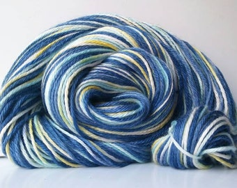 Hand Dyed - Merino Silk - 60/40% - Worsted Weight - 250 yards