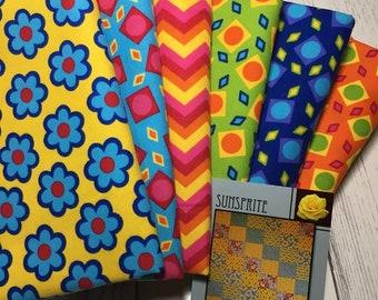 Flannel Brights Quilt Kit