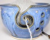 Pottery Yarn Bowl - Yarn Organizer - Yarn Organiser - Knitting Caddy - Yarn Ball Holder - Clay Knitting Bowl - Bowl For Knitting - In Stock