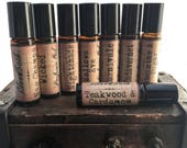 Hand blended Artisan Indie Perfume Oil Roll-on complex blends