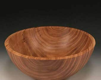 Handmade Wood Bowl - Elm Wood - The Simpleton