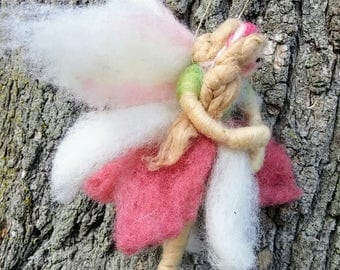 Woodand Felted Wool Fairy - NEW for 2017