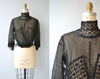 House of Mirth blouse | antique 1910s blouse | Edwardian blouse