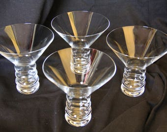 Riedel O Modernist Martini Glasses Set of 4