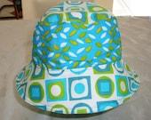 Reversible Bucket Hat - Bucket Hat - Cotton Hat - Women's Hat - Sun Hat - Adult Bucket Hat