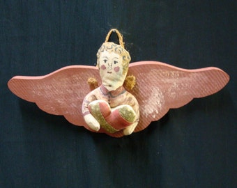 Cloth ANGEL with WOODEN Wing