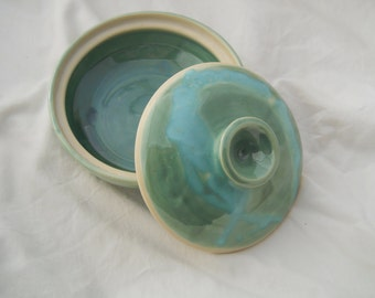 Ceramic Casserole Dish / Canister