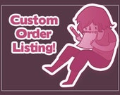 Custom Portrait Order - Soft style