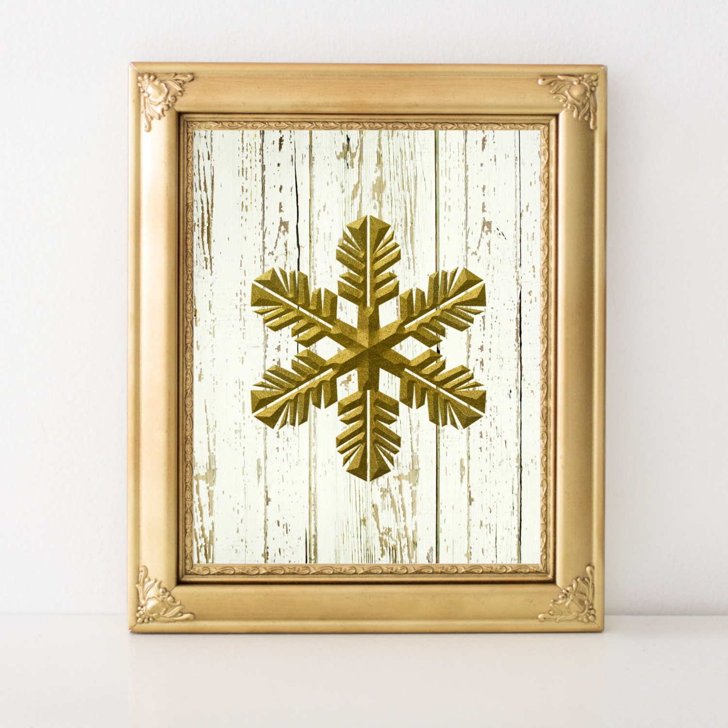 Snowflake Wall Art - Elitflat