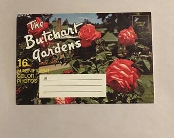 1960s Butchart Gardens Vintage Postcard Mailer
