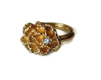 Flower Ring Avon Vintage 1970's