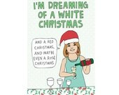 Christmas Cards - I'm Dreaming Of A White Christmas